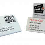 Business card – tent topper   thumb