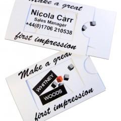 Business card – dissolve