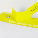 Card carrier – 'v' fold   thumb