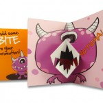 Monster mouth card   thumb