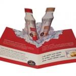 card - v fold