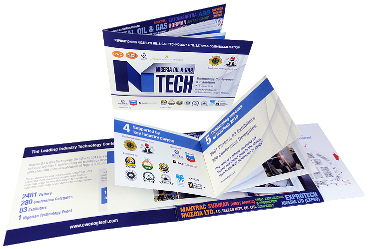 Flicker Cards - Interactive Folded Brochures that Grab Attention and Keep it