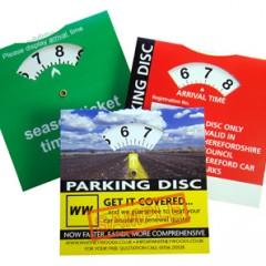 Parking discs