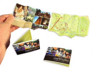Bursting with Information   - The credit-card sized visitor guide format