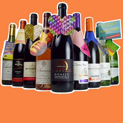 Bottle Collaretts, tags and hangers - Make Your Drinks Marketing Stand out from the Crowd