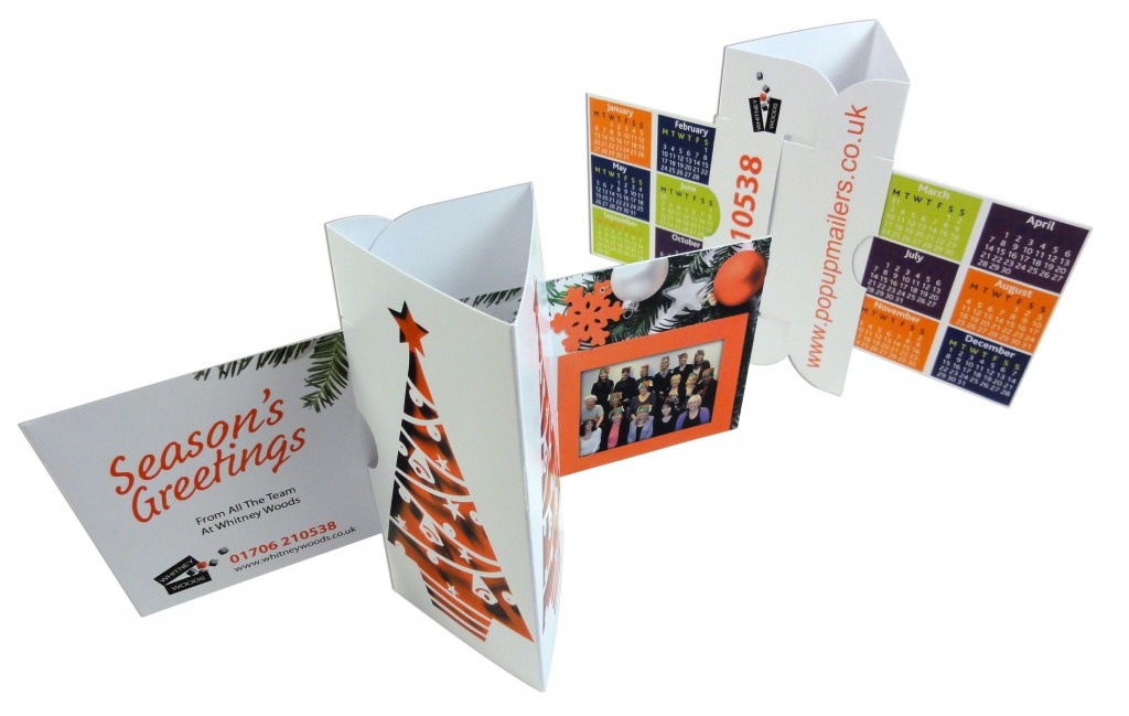 Prism Card - Perfect for Desk-top Advertising Calendars