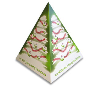 Pop Up Pyramid For Promotional Marketing Campaigns
