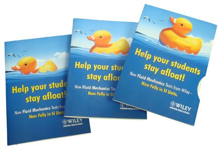 Bobbing Duck Card - Interactive,Creative and Amusing Direct Mail