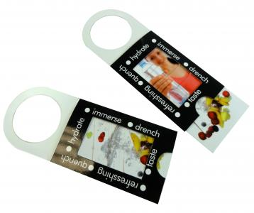 Moving Picture Bottle Collar - Perfect for Bottle Promotions