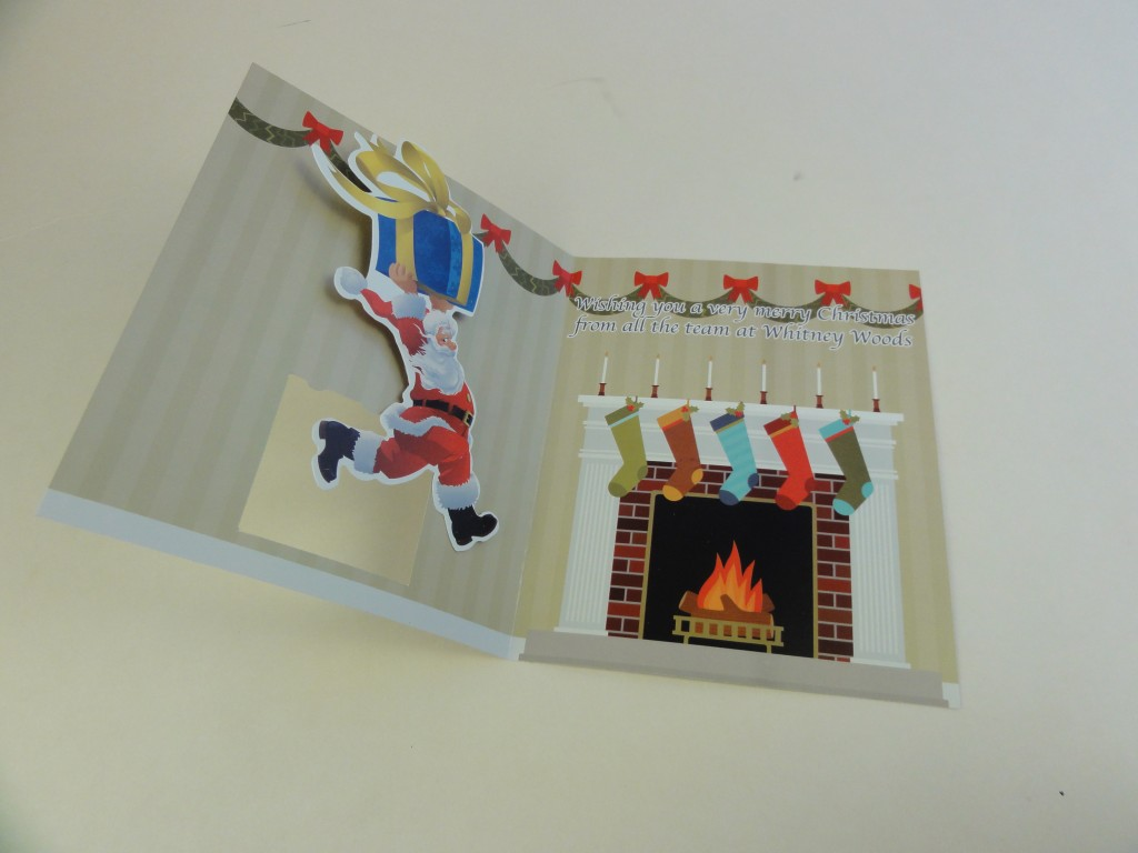 Wobble Cards - 3D Christmas Greetings to Attract Attention