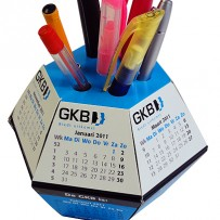 Pop up Ball - Desk Calendar for all year round markeitng