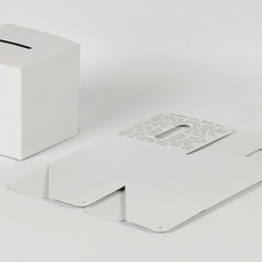 Manual Cube Money Box