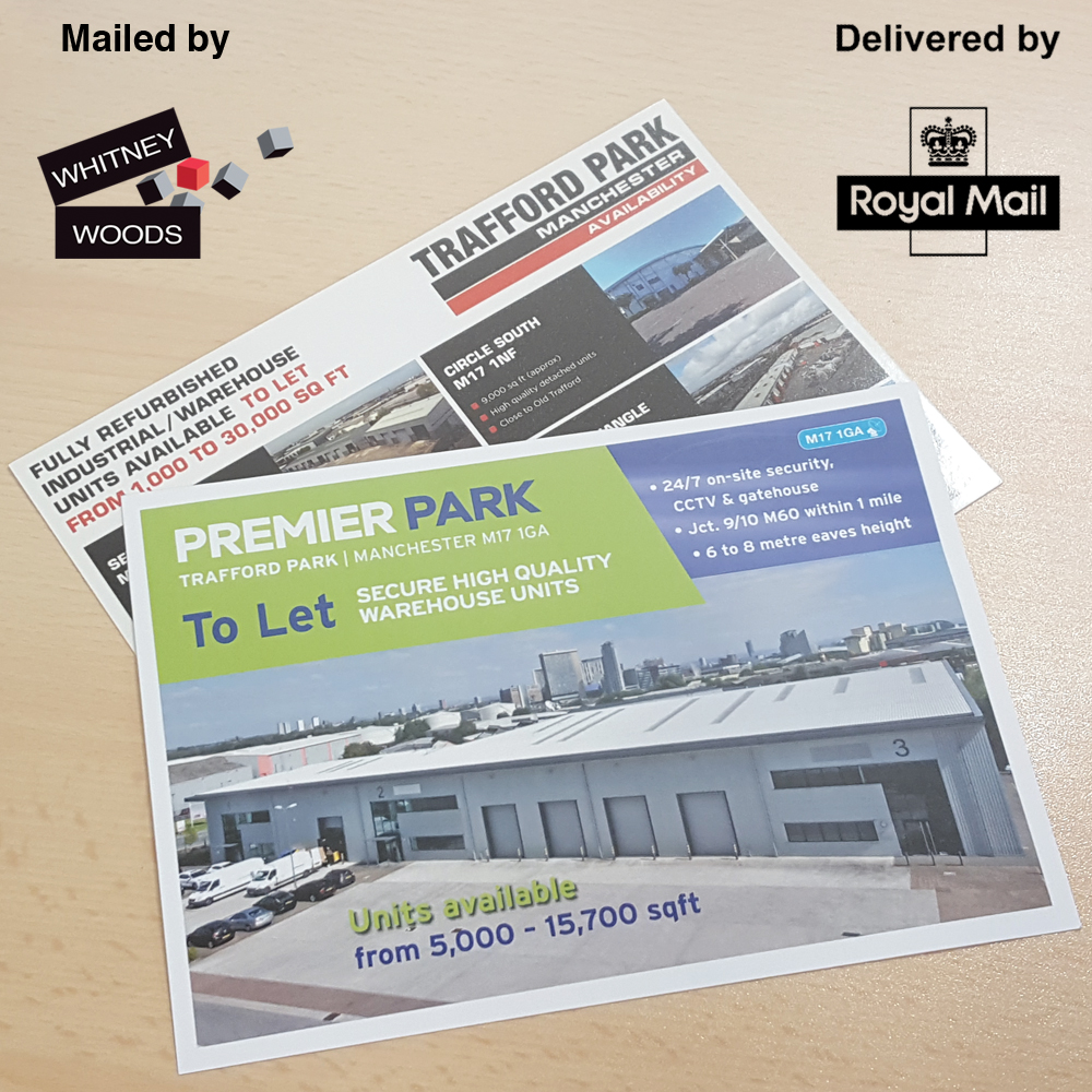 Miling house services for a direct mail campaign